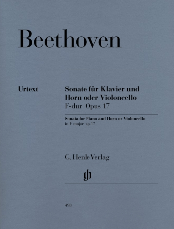 Horn Sonata F Op.17: French Horn (henle)