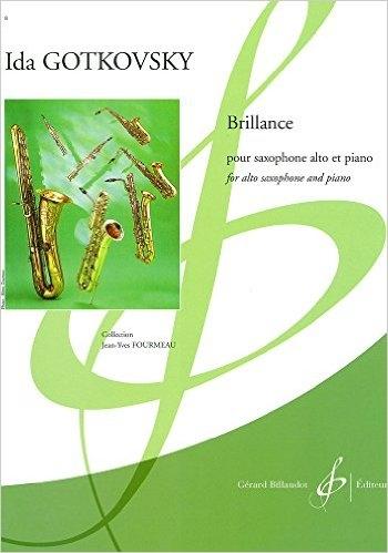 Brillance Alto Saxophone & Piano (Billaudot)