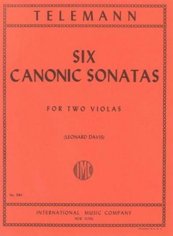 Telemann: 6 Canonic Sonatas: Viola Duet