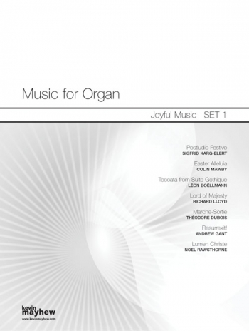 Music For Organ: 1: Joyful Music: Organ