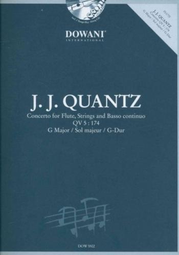 Concerto In G: Flute & Piano: Bk&Cd (Dowani)