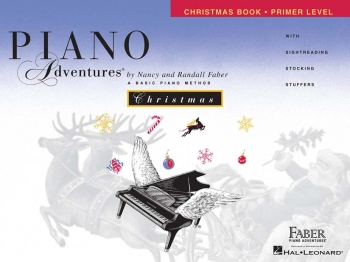 Piano Adventures: Christmas Book: Primer Level