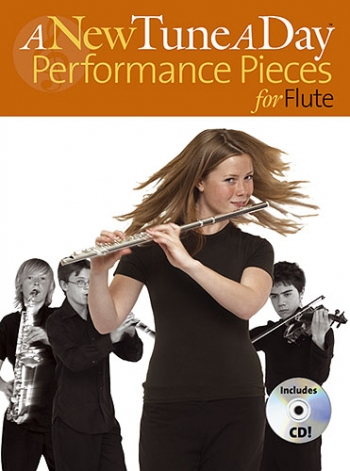 New Tune A Day: Flute: Performance Pieces Book & CD