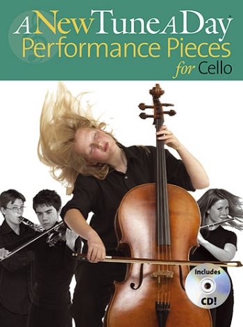 New Tune A Day Cello: Performance Pieces Book & CD (Bennett)