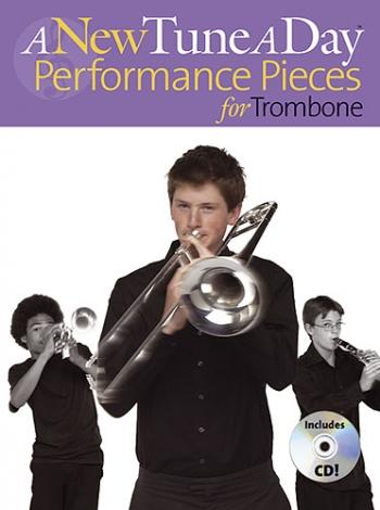 New Tune A Day: Trombone Bass Clef: Performance Pieces: Book & Cd   (bennett)