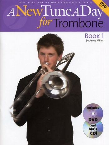 New Tune A Day: Trombone Bass Clef  Book & Cd & Dvd