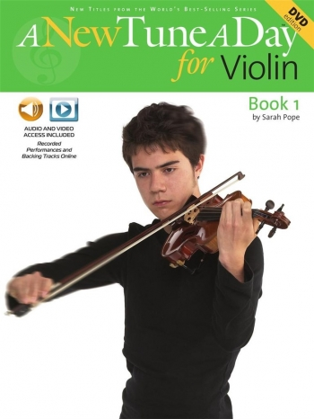 New Tune A Day: Violin Book 1: Book & Cd & Dvd  (bennett)