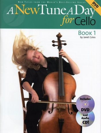 New Tune A Day Cello: Book 1: Book & CD & DVD(Bennett)