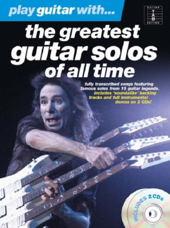 Play Guitar With The Greatest Solos Of All Time  Tab:  Bk & Cd