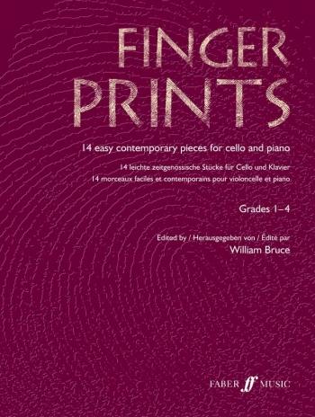 Finger Prints: Cello: Gr 1-4 (bruce) (Faber)