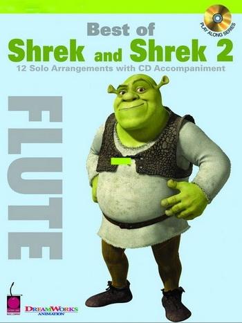 Shrek and Shrek 2: 12 Arrangements: Flute: Book & CD