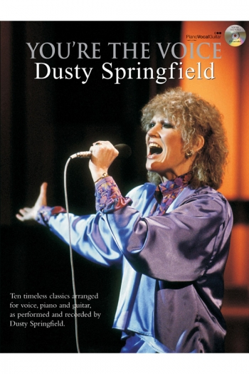 Youre The Voice: Dusty Springfield: Piano Vocal Guitar: Bk&cd