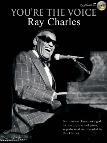 Youre The Voice: Ray Charles: Piano Vocal Guitar: Bk&cd