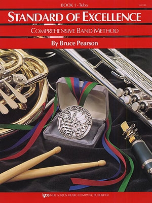 Standard Of Excellence: Comprehensive Band Method Book 1 Tuba BBb Bass Clef
