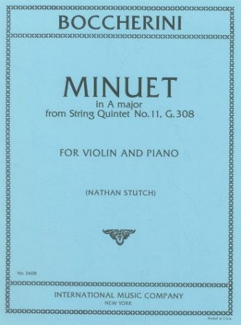 Minuet: Violin and Piano (International)
