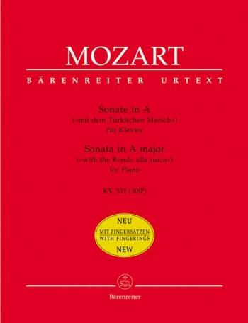 Sonata: A Major: K331: Piano (Barenreiter)