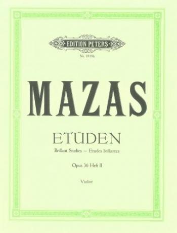 Etudes: Op36: Violin: Studies: 2: Etudes Brillantes