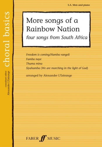 More Songs Of A Rainbow Nation - Vocal: SAB & Piano (lestrange)