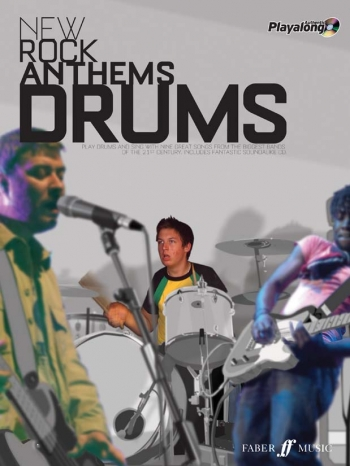 Authentic Playalong: New Rock Anthems: Drum: Book & CD