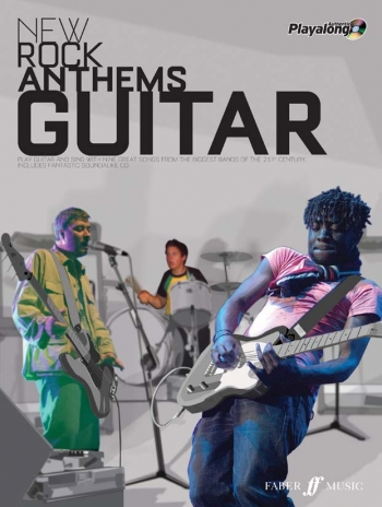 New Rock Anthems: Authentic Playalong: : Guitar Tab Book & CD