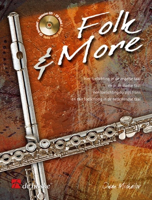 Folk And More: Flute Book & CD