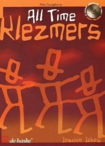 All Time Klezmers: Alto Saxophone: Book & Cd