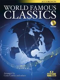 World Famous Classics: Accordion: Book & CD