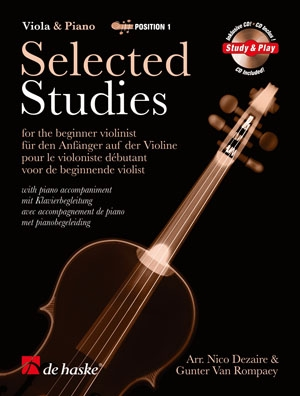 Selected Studies: Position 1: Viola and Piano (Dezaire)