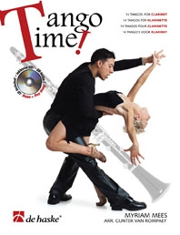 Tango Time: Clarinet: Book & CD