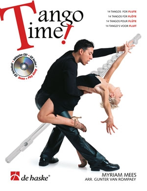 Tango Time: Flute: Book & Cd