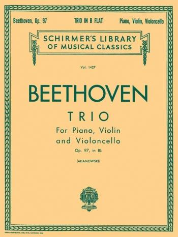 Beethoven: Trio: Op97 In Bb : Archduke: Piano Trio