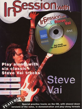 Play Session With Steve Vai: Guitar Tab: Book & CD