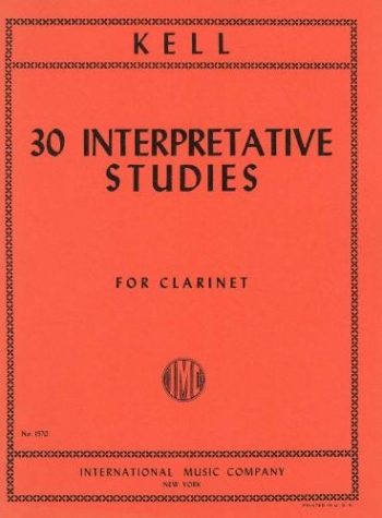 30 Interpretative Studies: Clarinet