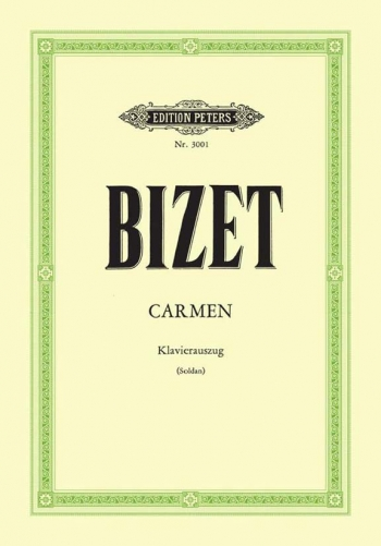 Carmen: Vocal: Opera Score (Peters)