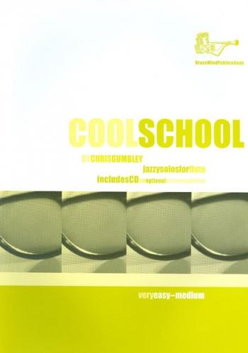 Cool School: Flute: Book & CD (Gumbley) (Brasswind)