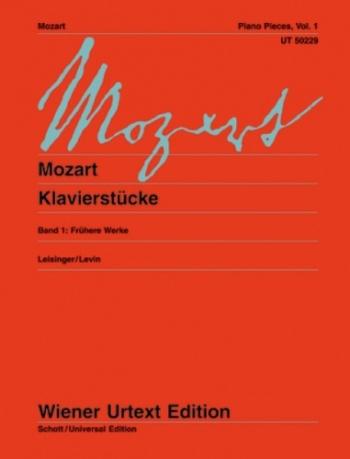 Klavierstucke: Piano Pieces Vol.1  (Wiener Urtext)