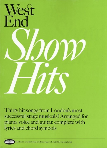 West End Show Hits: Piano Vocal Guitar