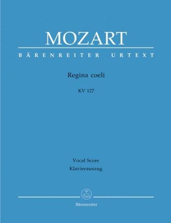 Regina Coeli: Kv127: Vocal Score (Barenreiter)