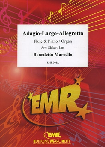 Adagio-Largo-Allegretto: Flute & Piano (Marc Reift)
