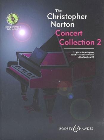 Concert Collection: Piano Vol2 Book & CD (Christopher Norton)