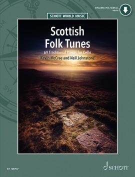 Scottish Folk Tunes : 69 Traditional Pieces Cello: Book & CD