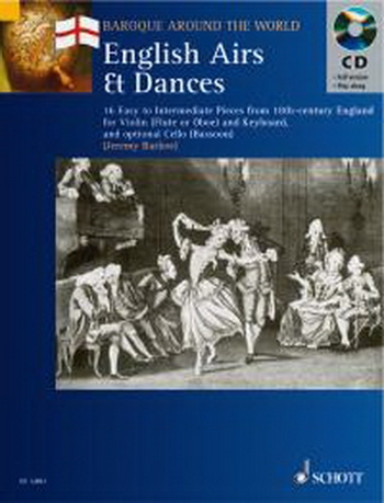 Baroque Around The World: English Airs and Dances: Violin Or Flute and Piano