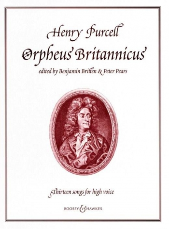 Orpheus Britannicus : 13 Songs: High Voice: Vocal and Piano