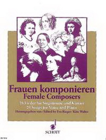 Female Composers: 25 Songs For Voice and Piano