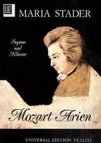 Album Of Maria Stader: Arias: High Voice and Piano