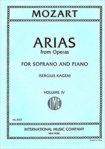 Arias From Operas: Vol 4 : Soprano and Piano