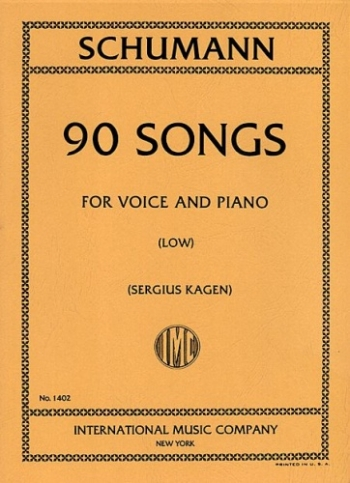 90Songs: Low Voice and Piano