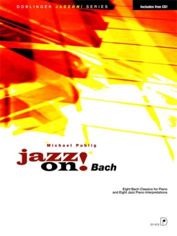 Jazz On Bach Book & Cd (publig)