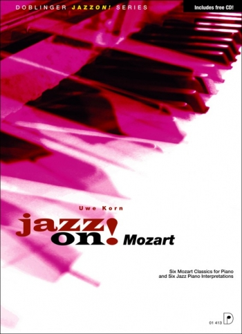 Jazz On Mozart Piano - Book & Cd  (uwe Korn)