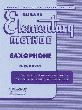 Rubank Elementary Method: Saxophone